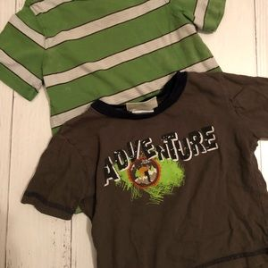 Other - BOYS 18MO GREEN T SHIRT BUNDLE